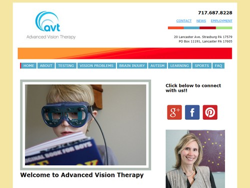 Advanced Vision Therapy