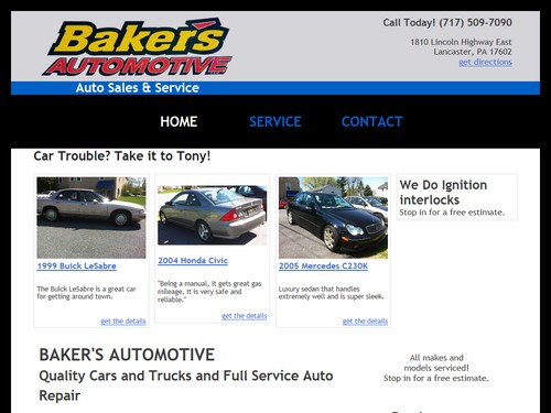 Bakers Automotive