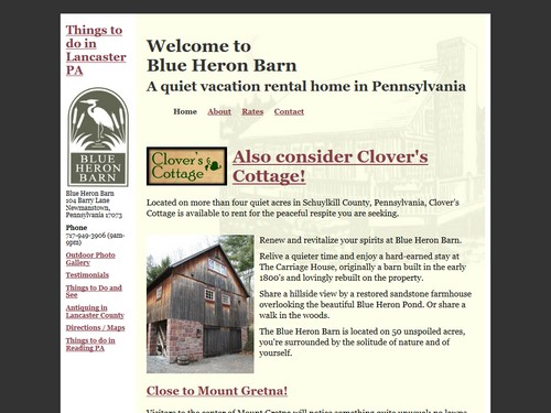 Blue Heron Barn
