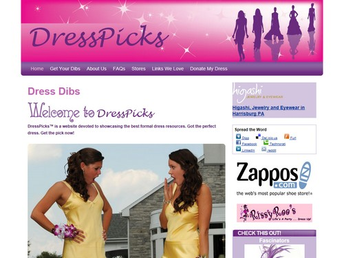 Dress Dibs DressPicks