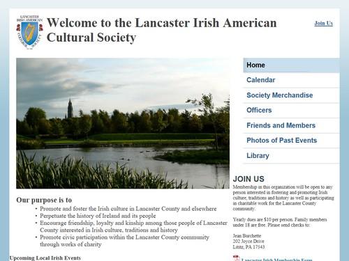 Lancaster Irish