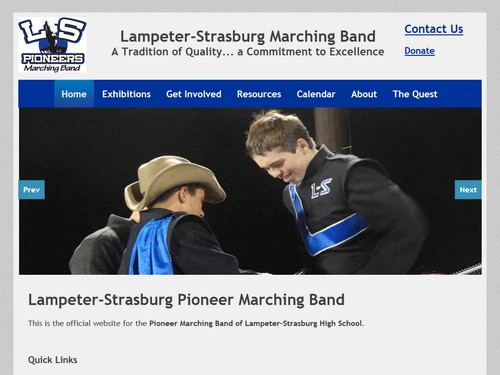Lampeter-Strasburg Marching Band