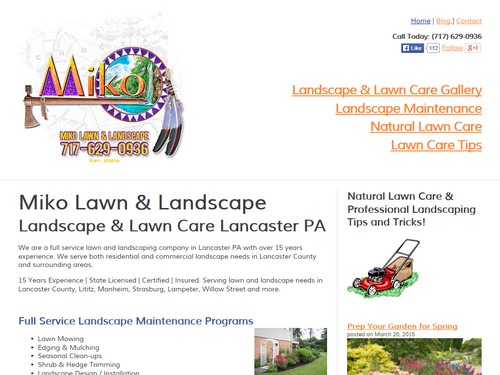 Miko Lawn and Landscape