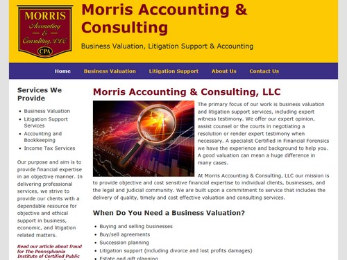 Morris Accounting and Consulting