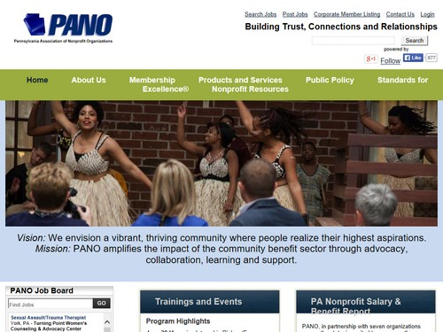 PANO | Pennsylvania Association of Nonprofit Organizations
