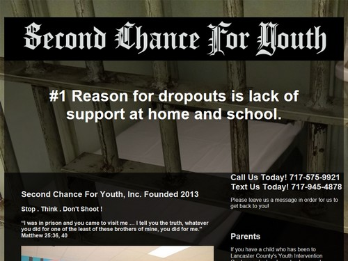 Second Chance For Youth