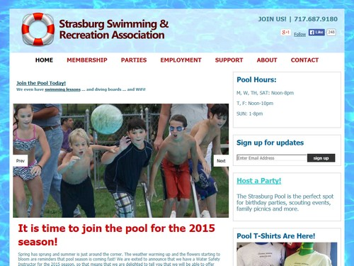 Strasburg Pool