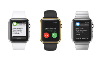 3 apple watch call text mail s Thinking Like An App Designer