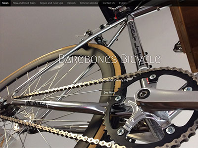 New Website for Barebones Bicycle