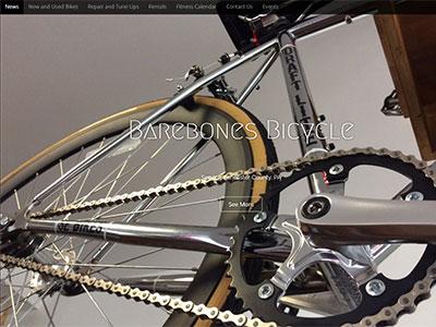 Barebones Bike Shop Lancaster PA Website New Website for Barebones Bicycle