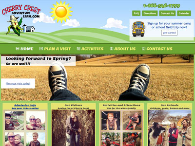 Cherry Crest Adventure Farm Website Cherry Crest Adventure Farm
