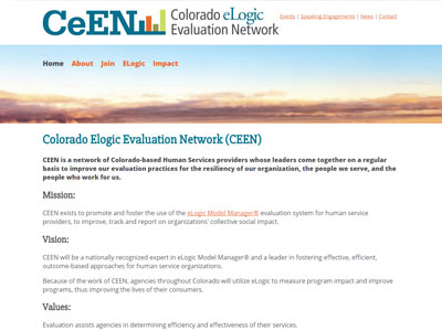 Colorado Elogic Evaluation Network Colorado Elogic Evaluation Network (CEEN)