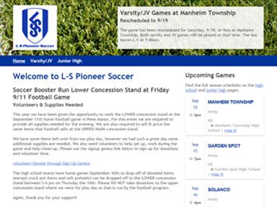 LS Lampeter Strasburg Soccer Website LS Lampeter Strasburg Soccer