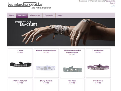 The Paris Bracelet Website The Paris Bracelet