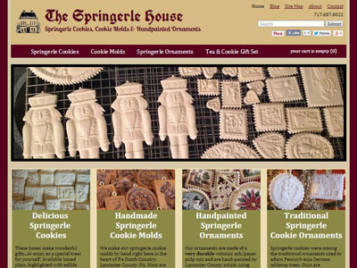The Springerle House Cookie Website Introducing The Springerle House