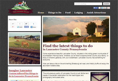 Visit Lancaster PA