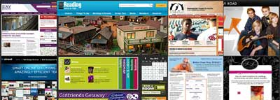 Website Collage Website Design