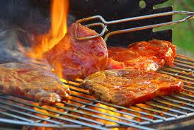 grill close up Grilling with propane?