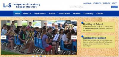 l s website New website for Lampeter-Strasburg School District